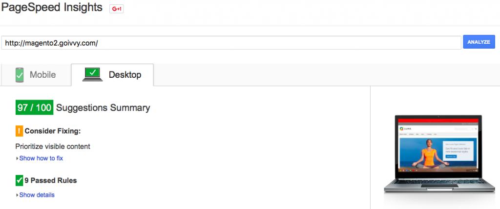 Magento 2 Google Page Speed 90% | Desktop Optimization | Reduce Server Response Time | Score | Goivvy.com