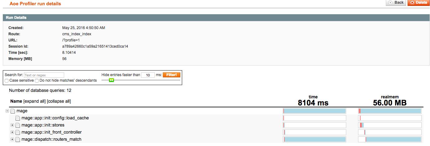 8s to 0.8s TTFB optimization | AOE_Profiler | Goivvy.com