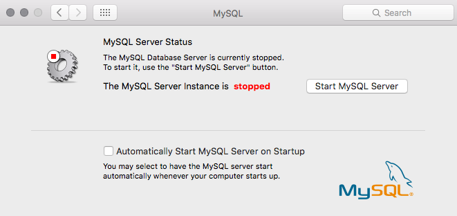 Window to Start MySQL Server on Mac OS X | Install Magento 2 on MacBook Air | Goivvy.com