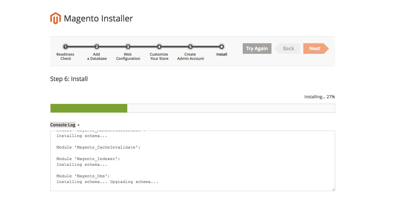 Magento 2 install on Debian 8