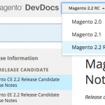 Magento 2.2 RC1 Overview