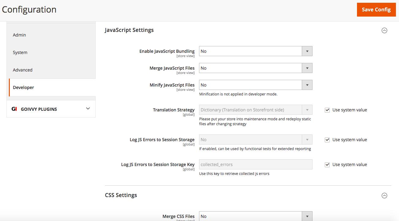 CSS/JS merge/bundle