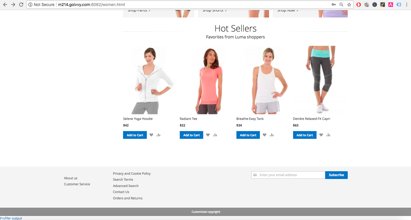 Magento 2 Category Page