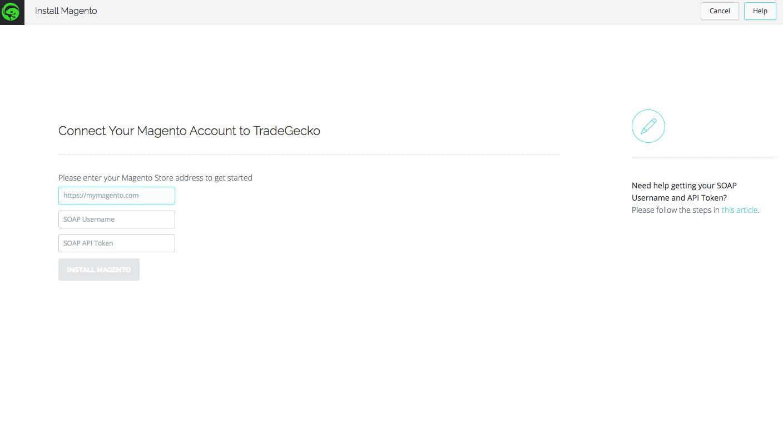 Enter API Details