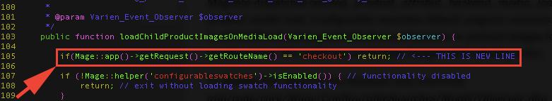 Change Function loadChildProductImagesOnMediaLoad