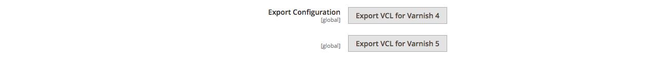 M2 Varnish Export Configuration File