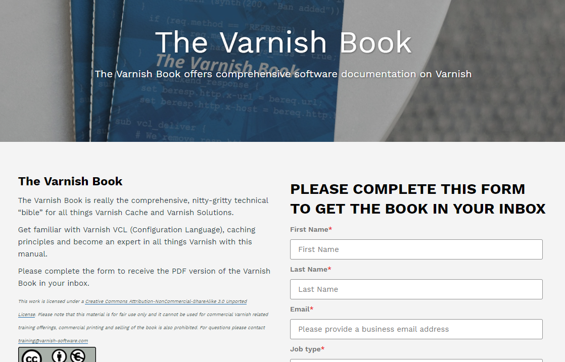 Varnish Book