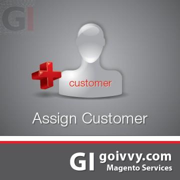 Assign Order Customer Magento