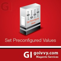 Set preconfigured values