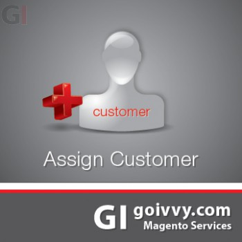 Assign Order Customer Magento