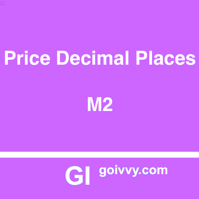 Magento 2 Prices Decimal Places